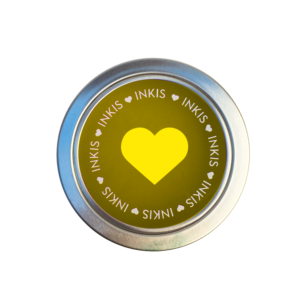 Tinta Inkis especial para Scrapbook - Color Amarillo Sunny