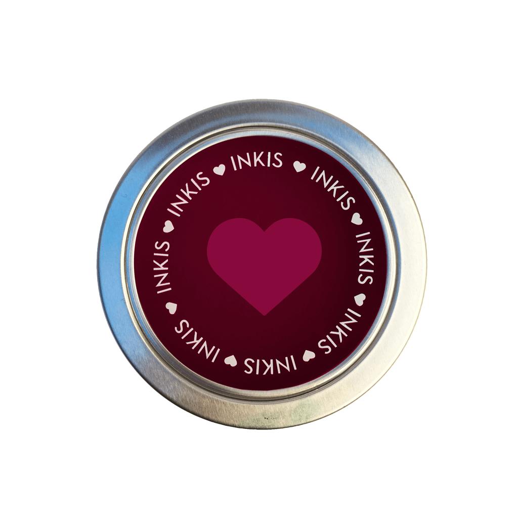 Tinta Inkis especial para Scrapbook - Color Rojo Burdeos
