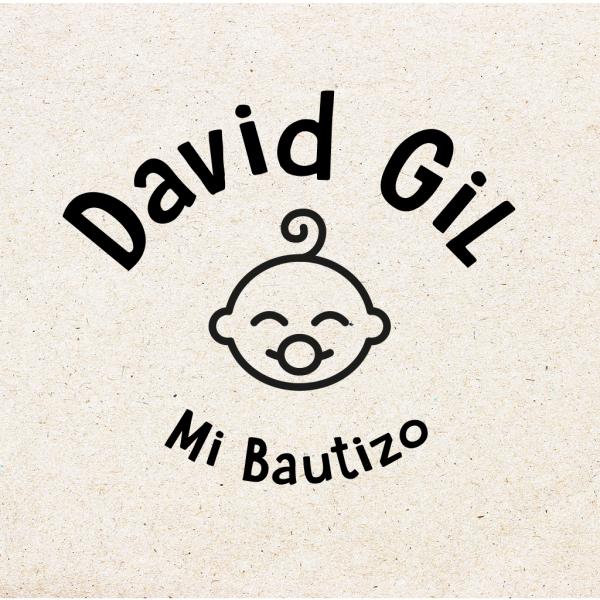"""Sello para Bautizo Personalizado """"Baby Boy"""""""