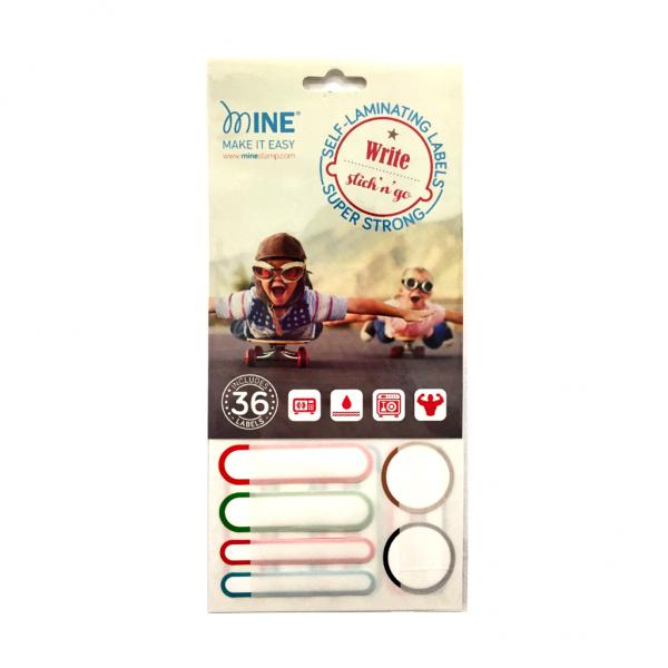 Etiquetas Adhesivas laminadas para Marcar todo tipo de Objetos