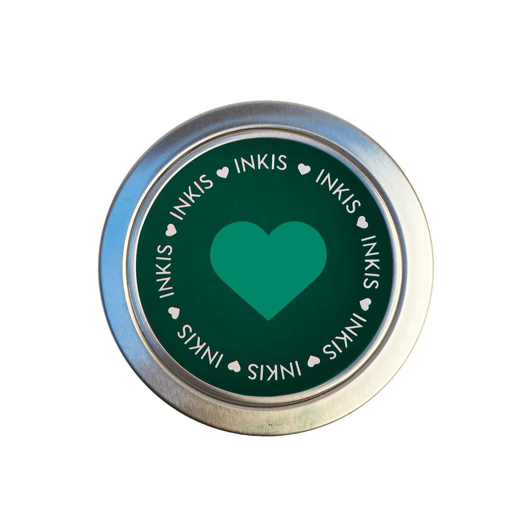 Tinta Inkis especial para Scrapbook - Color Verde Selva