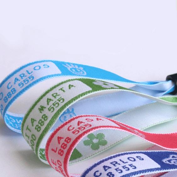 Pulseras Identificativas para Niños - ¡Configura la tuya!