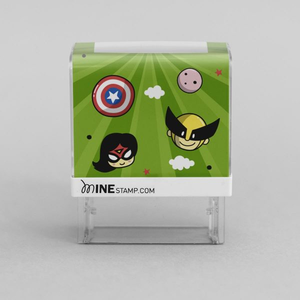 Sellos Superhéroes