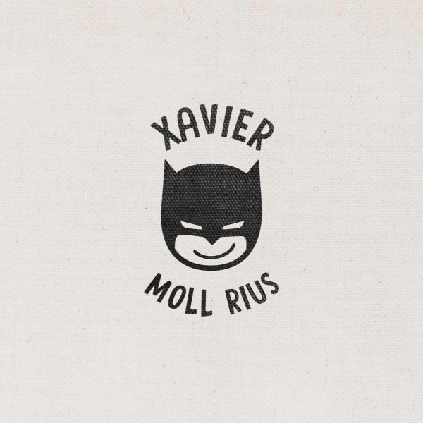 Sello Redondo Superhéroe Batman